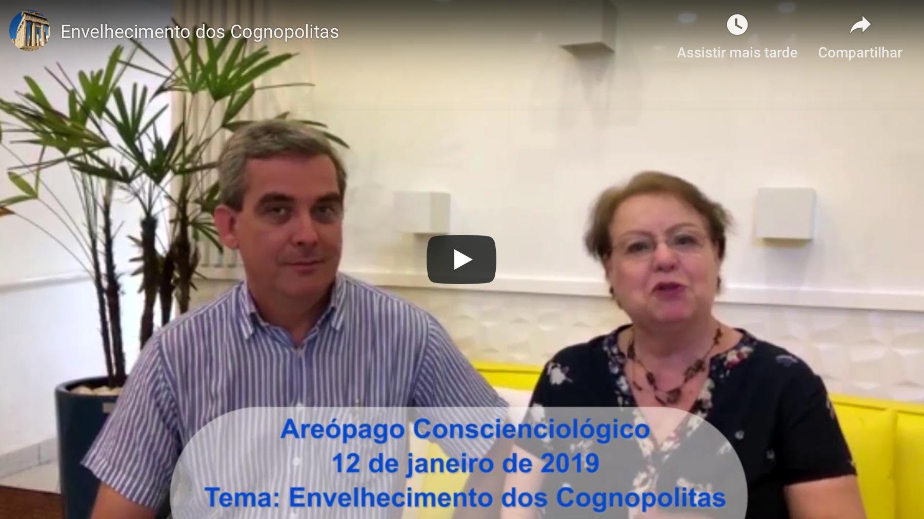 Areópago Conscienciológico V: Envelhecimento Dos Cognopolitas